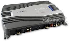 sony xm sd22x xmsd22x 500w specialty series 2 channel amplifier