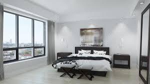 3d interior renderings chicago condo noir 1018