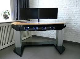 Walmart Ca Computer Desk Adjustable Custom Computer Desk Mod Fit For A True Computer