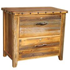 Lateral Filing Cabinet 2 Drawer Barnwood Locking Lateral Filing Cabinet With Nailheads 2 Drawer