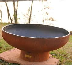Steel Firepits Low Boy Steel Outdoor Pit Contemporary Patio Chicago