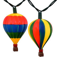 hot air balloon decorations hot air balloon novelty string lights