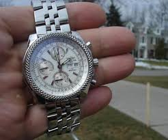 breitling bentley diamond breitling bentley gt a13362 white dial topnotch watch