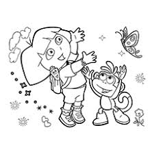 10 free printable nickelodeon coloring pages