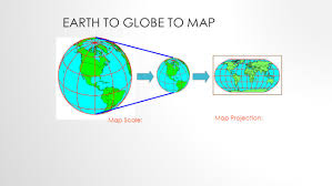 Map Projection Map Projections Putting A Round Earth On A Flat Paper Ppt Download