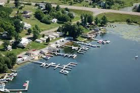 Thousand Islands by Thousand Islands Marina At Millens Bay In Cape Vincent Ny United