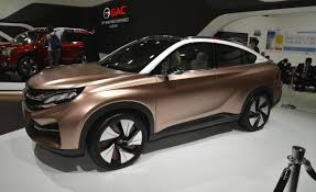 crossover cars 2017 china s gac shows electric car plug in hybrid concept crossover at