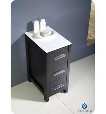sumptuous espresso bathroom storage cabinet this side cabinet