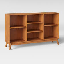 amherst mid century modern horizontal bookcase project 62 target