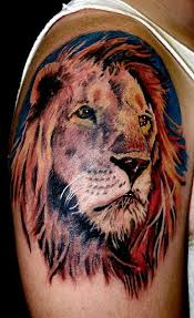 vinny burkhart lion löwe pinterest lion head tattoos head