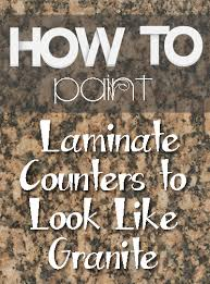 10 amazing laminate countertop makeovers how to paint granite