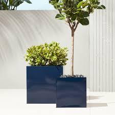 Plant Vase Modern Planters And Garden Pots Cb2