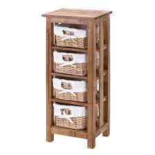 Bathroom Wicker Shelves by Decoration Endearing Bathroom Shelves With Baskets 3 Wicker