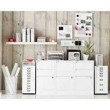 Bisley Filing Cabinet Bisley White 8 U0026 10 Drawer Collection Cabinets The Container Store