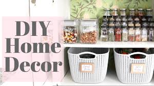 home diy tutorial my pantry makeover youtube