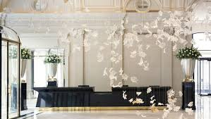 Foyer In Paris Home Inspiration From Peninsula Paris Signature Travel And Style