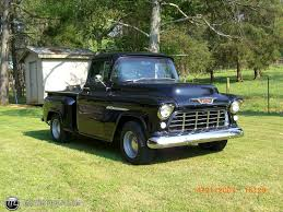 1955 chevrolet 3100 2nd series pick up no id 9990