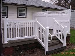 Railings And Banisters Ideas Best 25 Vinyl Deck Railing Ideas On Pinterest Vinyl Deck Vinyl