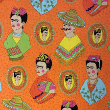frida kahlo fabric u0026 decor