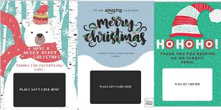 printable christmas targets 10 diy printable gift card holder ideas that make gifts special