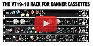 19 Inch Audio Rack Vt19 1u Professional 19 Inch Rack For Vintage Danner Cassette