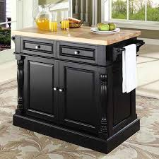 kitchen island butcher darby home co lewistown kitchen island with butcher block top
