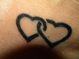 close love heart tattoo design looking nice love heart tattoos