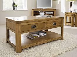 rustic oak coffee table magnificent rustic oak coffee table tables large regarding designs
