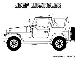 printable coloring pages jeep coloring pages free printable