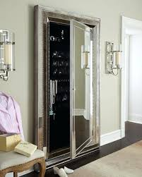 Free Standing Full Length Mirror Jewelry Armoire Full Length Mirror Jewelry Armoire White White Cheval Led Jewelry