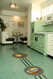 Linoleum Kitchen Flooring by 55 Best Luscious Linoleum Images On Pinterest Retro Kitchens