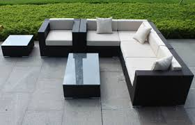 Sectional Sofa Pieces Outdoor Wicker Sectional Sofa 7 Sectional Manhattan Home