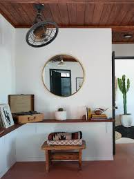Sears Tv Wall Mount The Joshua Tree Casita A Stylish Diy Remodel Budget Edition