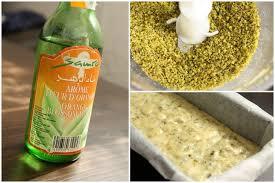 eau de fleur d oranger cuisine cake à la pistache et à la fleur d oranger chez requia cuisine et