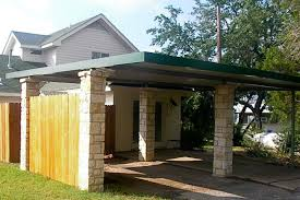 Attached Carports Wooden Carport Designs Considerations On Choosing The Safest