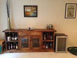 Open Bar Cabinet How To Build A Bar Cabinet With Diy And Again The Open Cabinets