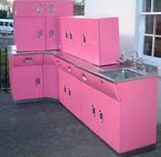 Vintage Kitchen Cabinet Best 20 Pink Kitchen Cabinets Ideas On Pinterest Pink Cabinets