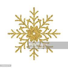 gold glitter foil ornament snowflake vector getty
