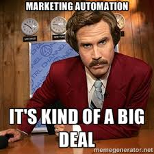 Marketing Meme - what of your budget should be spent on marketing automation