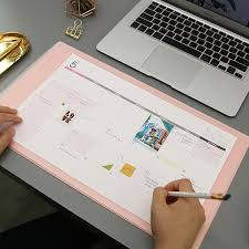 Small Desk Pad Usd 24 38 Korea Stationery Plan D Sweet Desktop Non Slip 2018