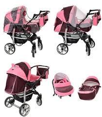 baby sportive landau pour bébé avec roues pivotables siège auto