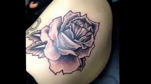 diamond rose tattoo the diamond