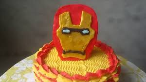 ironman cake in buttercream frosting youtube