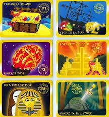 yoyo around the world treasure cards