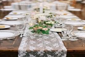 wedding reception table runners 30 pretty wedding table runner ideas weddingomania wedding
