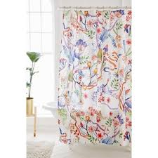Whimsical Shower Curtains Whimsical Floral Shower Curtain Outfitters Polyvore