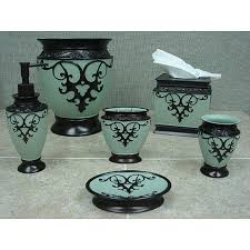 ingenious design ideas teal bathroom set brown and decor home