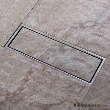 Bathroom Shower Drain Covers 30 10cm High Flow Stainless Steel Linear Shower Drain Grate