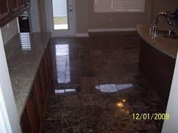 flooring for dark kitchen cabinets shaped island black countertop