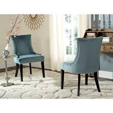 What Kind Of Fabric For Dining Room Chairs Homesullivan Mansfield Ash Fabric Wing Back Dining Chair Set Of 2